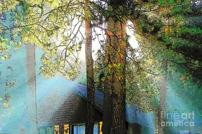 Idyllwild - Houses On The Hill Art Print