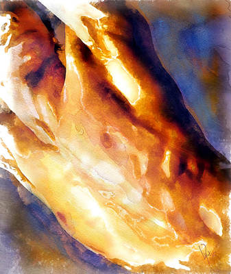 Nude Painting - #45 Nude by Vya Artist