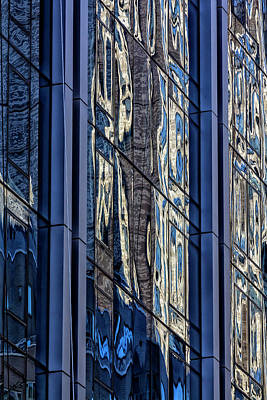 Photograph - Reflective Glass Architecture by Robert Ullmann