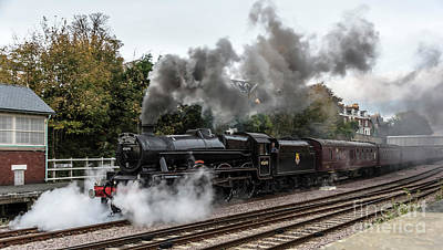 Photograph - 45690 Lms Jubilee Class  by David  Hollingworth