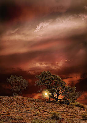 Prairie Sunset Wall Art - Photograph - 4578 by Peter Holme III