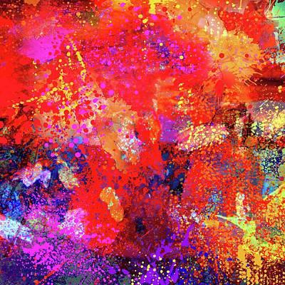 Painting - Abstract Composition by Samiran Sarkar