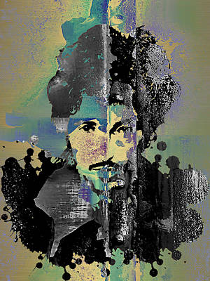 Bruce Springsteen Collection Art Print by Marvin Blaine
