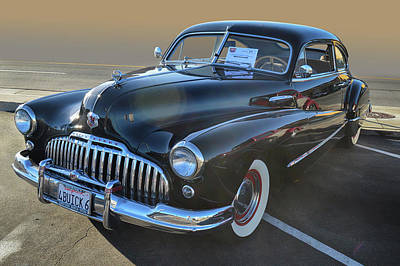 Photograph - 46 Buick Super by Bill Dutting