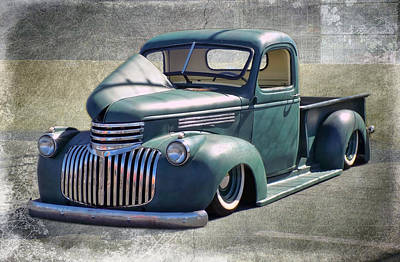 Photograph - '46 Chevy Truck by Victor Montgomery