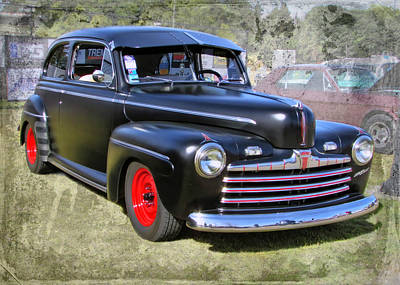 Photograph - '46 Ford by Victor Montgomery