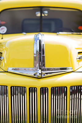 46 Pick Up In Yellow Art Print by Tim Gainey