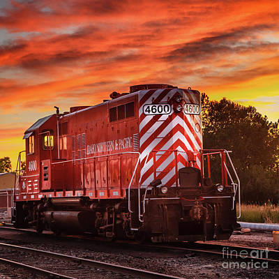 Photograph - 4600 Locomotive by Robert Bales