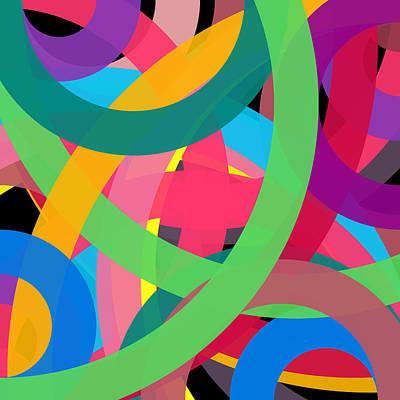Drawing - 46368 - Phi Word Circle by REVAD David Riley