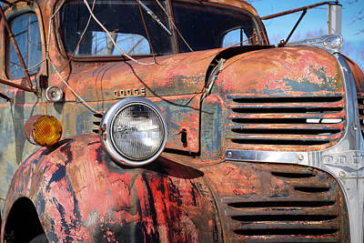 1947 Dodge Truck Photograph - '47 Dodge by Jonathan Woodbury