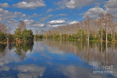 Photograph - 47- Everglades Serenity by Joseph Keane