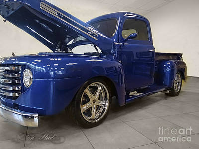 Photograph - 47 Ford Pickup by Melissa Messick
