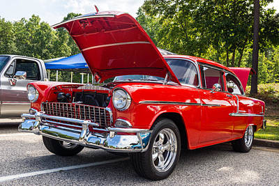 Hall County Sheriffs Office Show And Shine Car Show Art Print
