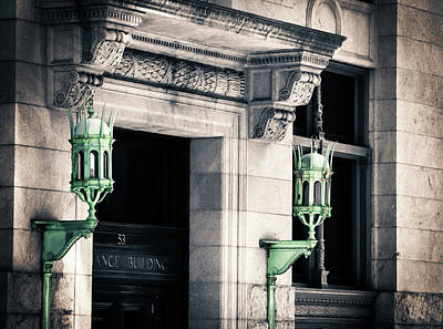Photograph - Gothic Street Lights by Vintage Pix