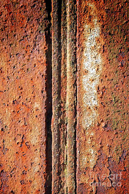 Photograph - Rusty Metal by Tom Gowanlock