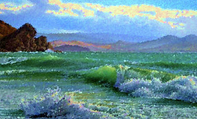 Morning Painting - Nature Landscape Pictures by Edna Wallen