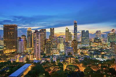 Photograph - Bangkok City  by Anek Suwannaphoom