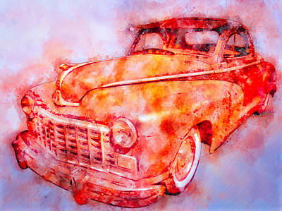 48 Dodge 3 Window Business Coupe Art Print