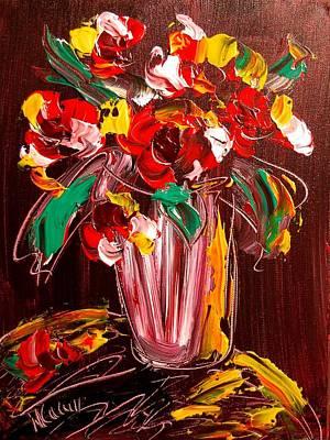 Flowers Art Print by Mark Kazav