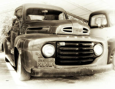 Antiques Photograph - 48 Ford  by Steven Digman