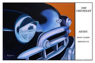 49 Chevy Poster Art Print