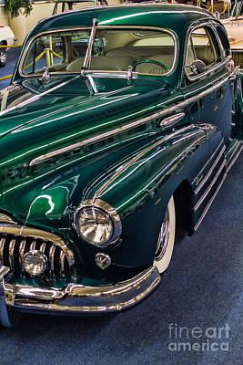 Photograph - 49 Classic Buick Custom Sedanette by Steven Parker