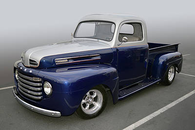 Photograph - 49 Ford F-1  by Bill Dutting