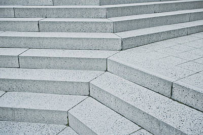 Staircase Photograph - Stone Steps by Tom Gowanlock