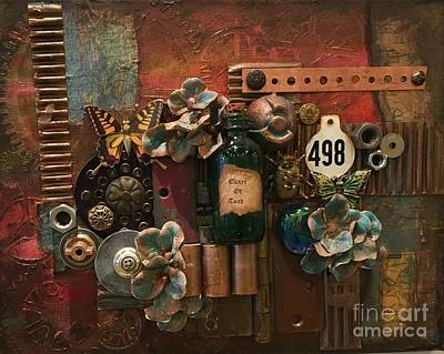 Mixed Media - 498 by Marcia Hero