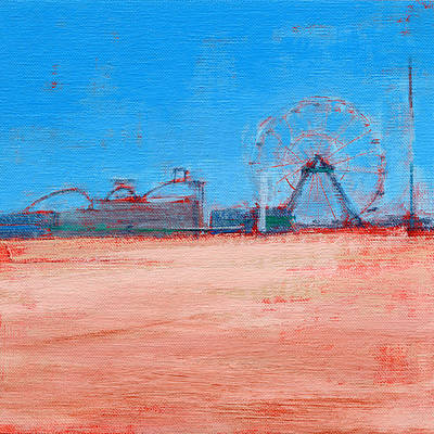 Boardwalk Painting - Rcnpaintings.com by Chris N Rohrbach