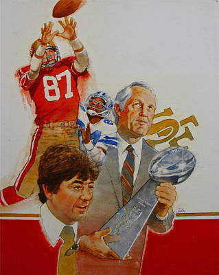49rs Media Guide Cover 1982 Art Print by Cliff Spohn