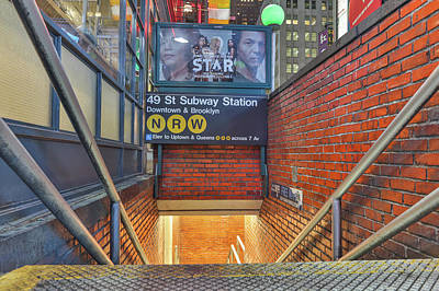Photograph - 49th Street Sub by Jimmy McDonald