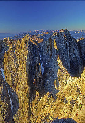 Photograph - 4mm6434 Sunrise On Split Mountain by Ed Cooper Photography