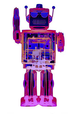 Photograph - 4n0d3 X-ray Robot Art No. 2 by Roy Livingston
