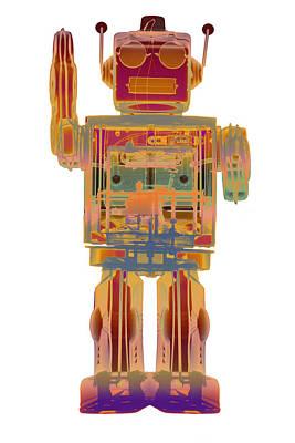 Photograph - 4n0d3 X-ray Robot  by Roy Livingston
