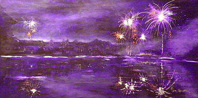 4rh Of July Celebration Art Print by Terry Honstead