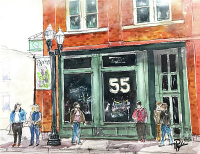 Painting - 4th And Main by Tim Ross