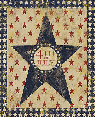4th Of July Americana Art Print