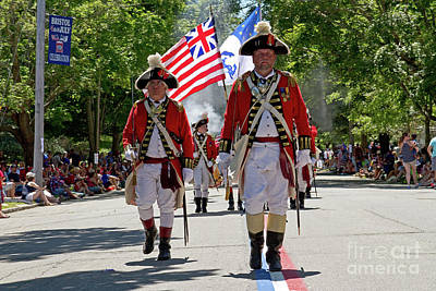 Photograph - 4th Of July, Bristol Ri by Butch Lombardi