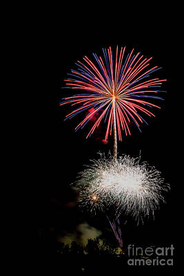 4th Of July Fireworks 1 Print by Eyal Aharon