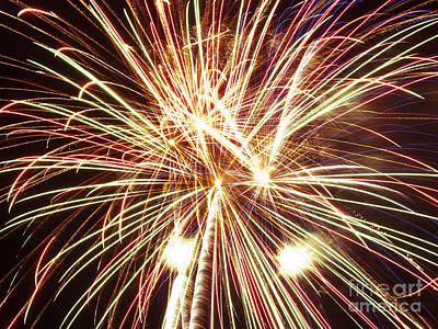 4th Of July Fireworks Art Print by Joe Carini - Printscapes
