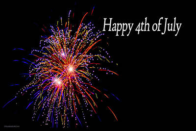 Photograph - 4th Of July Fireworks by LeeAnn McLaneGoetz McLaneGoetzStudioLLCcom