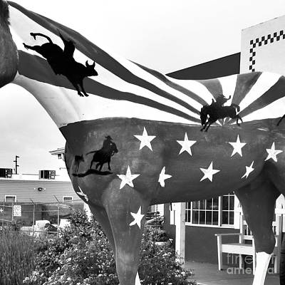 4th Of July Horse #5 Original by Frederick Holiday