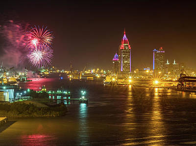 Photograph - 4th Of July In Mobile by Brad Boland