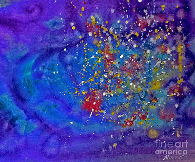 4th Of July Painting - 4th Of July by Nancy McNamer
