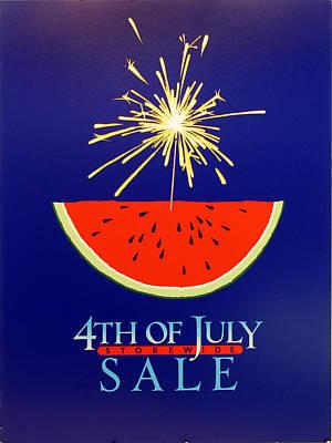 4th Of July Sale Original by Richard Nodine