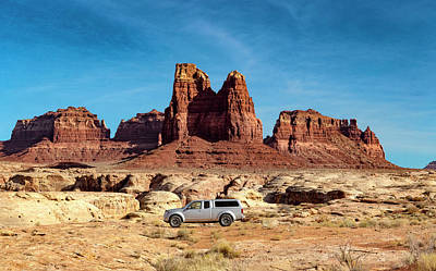 Photograph - 4x4 At Lake Powell by Gary Warnimont