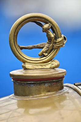 Photograph - 1912 Gobron-brillie 12 Cv Skiff Hood Ornament by Jill Reger