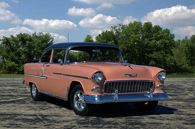 Photograph - 1955 Chevrolet by TeeMack