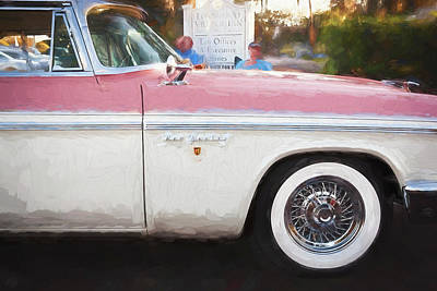 Photograph - 1956 Chrysler New Yorker Newport    by Rich Franco